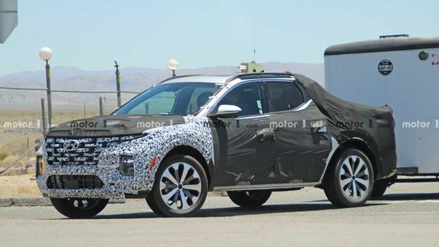 Hyundai Santa Cruz được hé lộ thêm thông tin: Ra mắt năm nay, có công nghệ vượt trội hơn Ford Ranger - Ảnh 1.