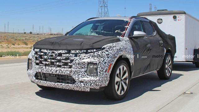 Bán tải Hyundai cạnh tranh Ford Ranger mượn thiết kế Tucson đời mới sẽ như thế này... - Ảnh 4.