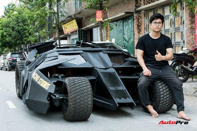 Gặp chàng sinh viên Việt tự làm 'siêu xe' Batmobile đang gây sốt: Cặm cụi 10 tháng, tốn nửa tỷ đồng nhưng vẫn chưa có điểm dừng - Ảnh 2.