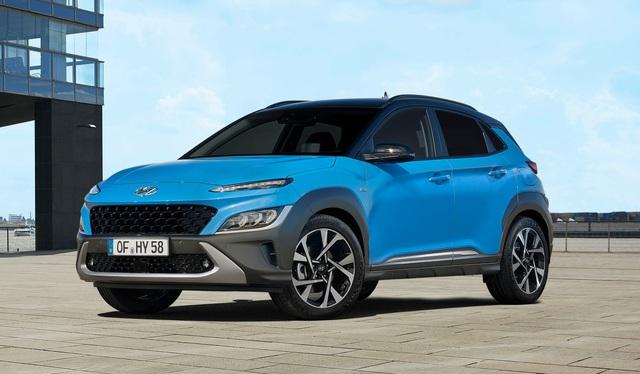hyundai kona 14 15990115328671747666337 crop 15990163911041980369290 Hyundai Kona 2021 Facelift ra mắt với thiết kế mới. Đợi ngày về Việt Nam
