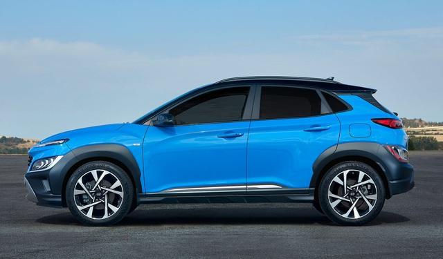 hyundai kona 15 1599011532875130511323 crop 15990164032121906693997 Hyundai Kona 2021 Facelift ra mắt với thiết kế mới. Đợi ngày về Việt Nam