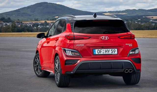 hyundai kona 9 1599011532756978704866 crop 15990167196342022169926 Hyundai Kona 2021 Facelift ra mắt với thiết kế mới. Đợi ngày về Việt Nam