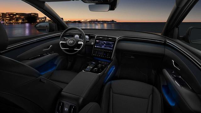 Hyundai Tucson 2021 lăn bánh ngoài đời thực: Đẹp như xe sang, chờ ngày về Việt Nam đấu Honda CR-V và Mazda CX-5 - Ảnh 3.