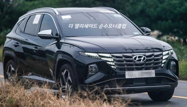 Hyundai Tucson 2021 lăn bánh ngoài đời thực: Đẹp như xe sang, chờ ngày về Việt Nam đấu Honda CR-V và Mazda CX-5 - Ảnh 4.