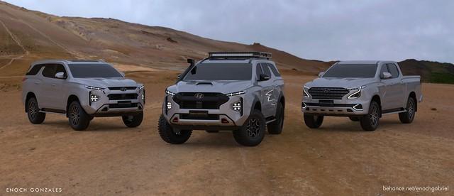 Đây có thể là SUV Hyundai đấu Toyota Land Cruiser - Ảnh 2.