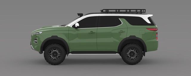 Đây có thể là SUV Hyundai đấu Toyota Land Cruiser - Ảnh 1.