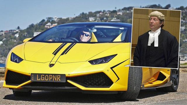 Chiếc xe sang Lamborghini bỗng dưng nổi tiếng vì biển số độc khiến chủ xe phải ra hầu tòa - Ảnh 2.