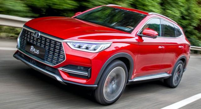 BYD Song Plus - SUV Trung Quốc giống Audi, nội thất nghiêng, giá rẻ như xe phổ thông - Ảnh 1.