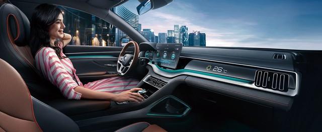 BYD Song Plus - SUV Trung Quốc giống Audi, nội thất nghiêng, giá rẻ như xe phổ thông - Ảnh 4.