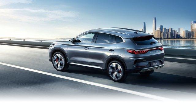 BYD Song Plus - SUV Trung Quốc giống Audi, nội thất nghiêng, giá rẻ như xe phổ thông - Ảnh 3.