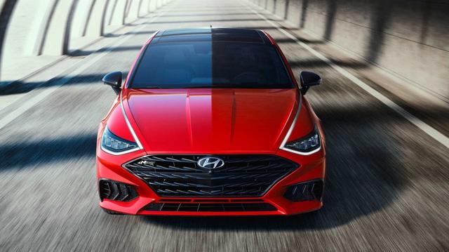 Lộ diện Hyundai Sonata N Line – Thiết kế vượt xa mẫu đang bán ở Việt Nam