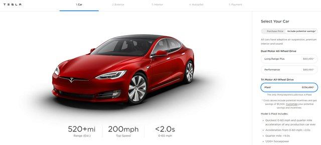 Tesla chính thức công bố Model S Plaid: Kẻ hủy diệt siêu xe - Ảnh 1.