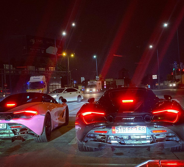Dàn siêu xe Sài Gòn trị giá trăm tỷ tụ hội: Màu sắc sặc sỡ, một chiếc giống trong phim hoạt hình - Ảnh 3.