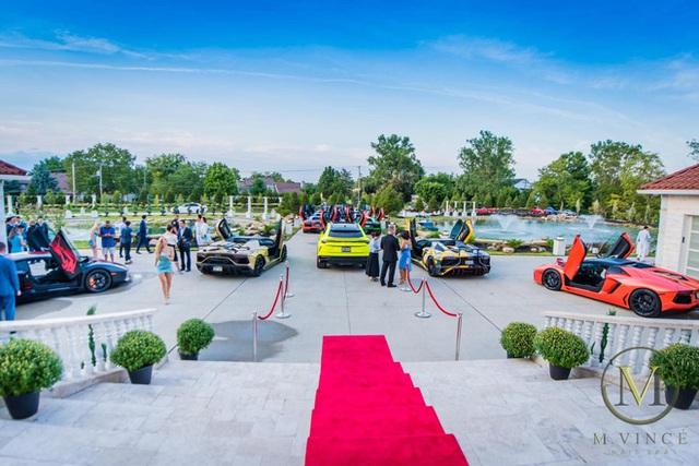 Dàn siêu xe gồm 20 xế khủng của đại gia Việt hội tụ trên đất Mỹ - Ảnh 2.