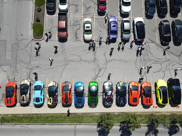 Dàn siêu xe gồm 20 xế khủng của đại gia Việt hội tụ trên đất Mỹ - Ảnh 6.