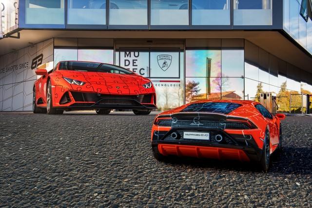 Lamborghini ra mắt bản xếp hình 3D Huracan EVO với giá gần 1 triệu đồng  - Ảnh 1.