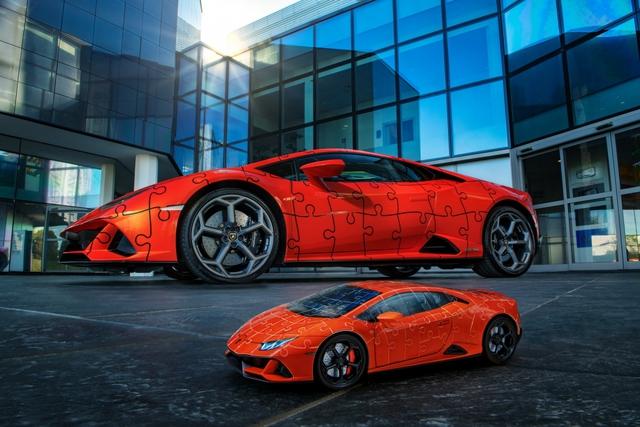 Lamborghini ra mắt bản xếp hình 3D Huracan EVO với giá gần 1 triệu đồng  - Ảnh 2.