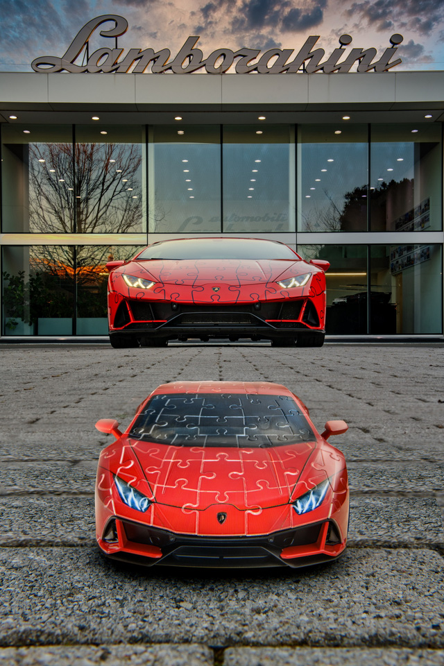 Lamborghini ra mắt bản xếp hình 3D Huracan EVO với giá gần 1 triệu đồng  - Ảnh 3.