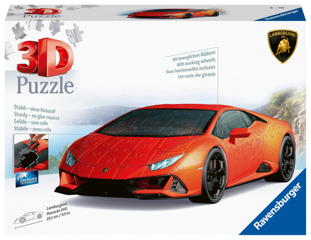 Lamborghini ra mắt bản xếp hình 3D Huracan EVO với giá gần 1 triệu đồng  - Ảnh 4.