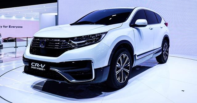 Honda CR-V bất ngờ bổ sung phiên bản mới: Nội thất gây tò mò - Ảnh 2.