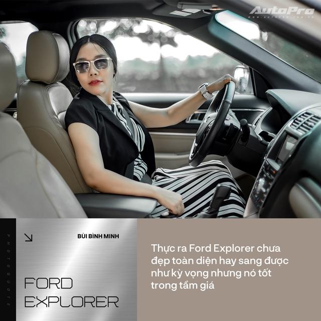 Nữ kiến trúc sư Hà Nội đánh giá Ford Explorer: 'Không lộng lẫy kiểu biệt thự mà tiện như chung cư' - Ảnh 5.