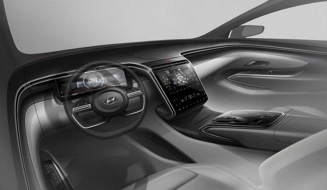 Hyundai Tucson 2021 lộ diện hoàn chỉnh trước giờ G: Lột xác ngỡ ngàng, Honda CR-V cần dè chừng - Ảnh 2.