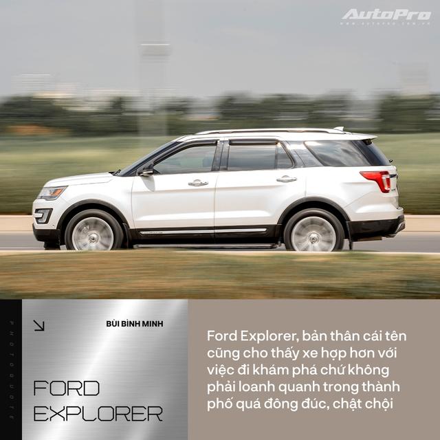 Nữ kiến trúc sư Hà Nội đánh giá Ford Explorer: 'Không lộng lẫy kiểu biệt thự mà tiện như chung cư' - Ảnh 6.