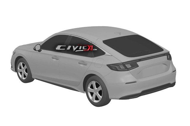 Honda Civic thế hệ mới giống Accord, bỏ đèn hậu hình boomerang - Ảnh 3.
