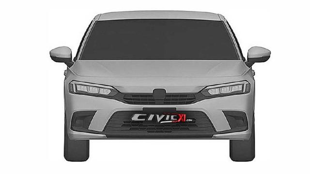 Honda Civic thế hệ mới giống Accord, bỏ đèn hậu hình boomerang - Ảnh 1.
