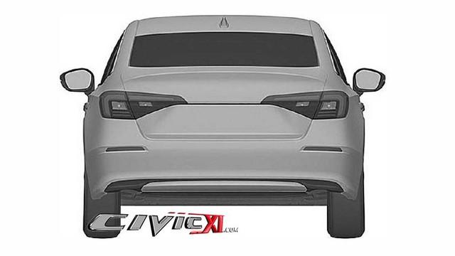 Honda Civic thế hệ mới giống Accord, bỏ đèn hậu hình boomerang - Ảnh 5.