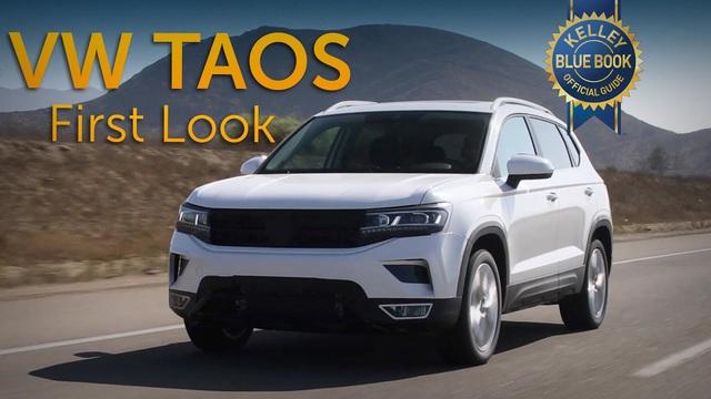 Volkswagen Taos - SUV cỡ nhỏ đấu Kia Seltos lần đầu lộ diện không che chắn