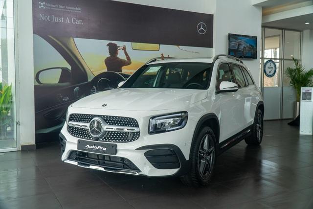 Chi tiết Mercedes-Benz GLB giá 2 tỷ đồng vừa về đại lý: Xe sang thực dụng ngang tầm tiền Ford Explorer và Volkswagen Tiguan Allspace - Ảnh 2.