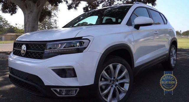 Volkswagen Taos - SUV cỡ nhỏ đấu Kia Seltos lần đầu lộ diện không che chắn - Ảnh 2.