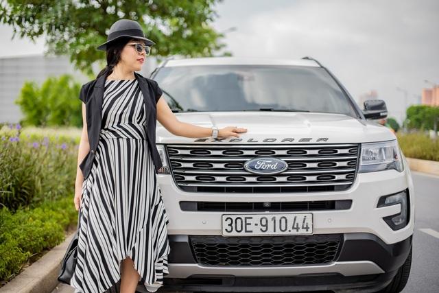 Nữ kiến trúc sư Hà Nội đánh giá Ford Explorer: 'Không lộng lẫy kiểu biệt thự mà tiện như chung cư' - Ảnh 8.