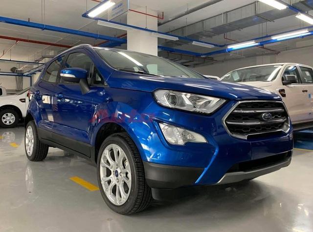 Lộ thông số 3 bản Ford EcoSport 2020 sắp ra mắt Việt Nam: Bỏ cửa sổ trời, thêm nhiều tính năng đấu Hyundai Kona - Ảnh 1.