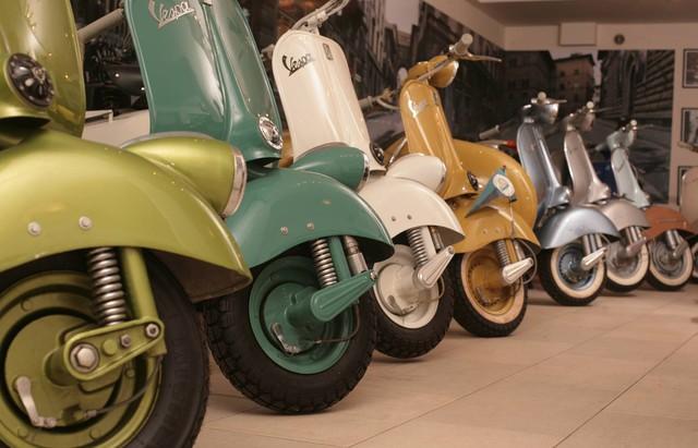 Nơi cho dân cuồng Vespa: Bảo tàng tập hợp toàn Vespa quý hiếm từ… bãi rác - Ảnh 1.