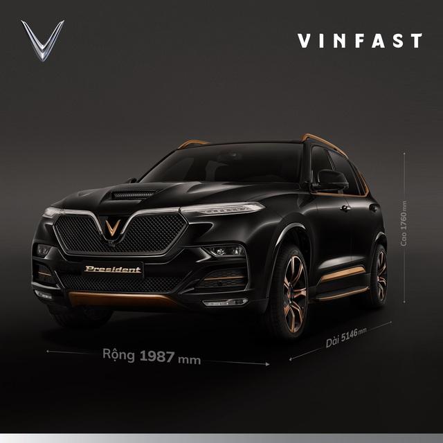 VinFast President liên tục 'nhá hàng' trước giờ G: Kích thước lớn, động cơ khủng, nội thất khác hẳn Lux SA2.0 - Ảnh 3.