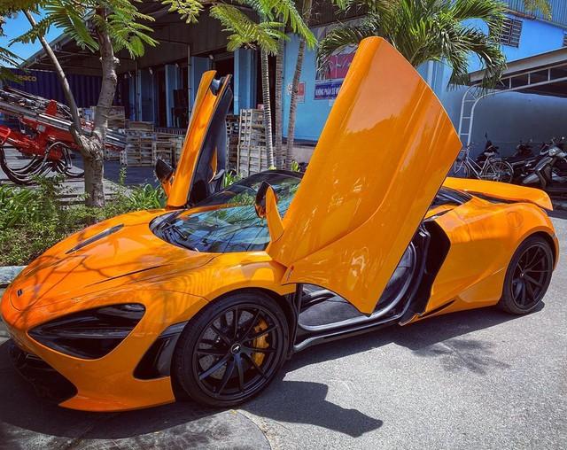 Thêm McLaren 720S Spider về Việt Nam, màu sơn dễ nhầm lẫn với chiếc của doanh nhân Nguyễn Quốc Cường - Ảnh 3.