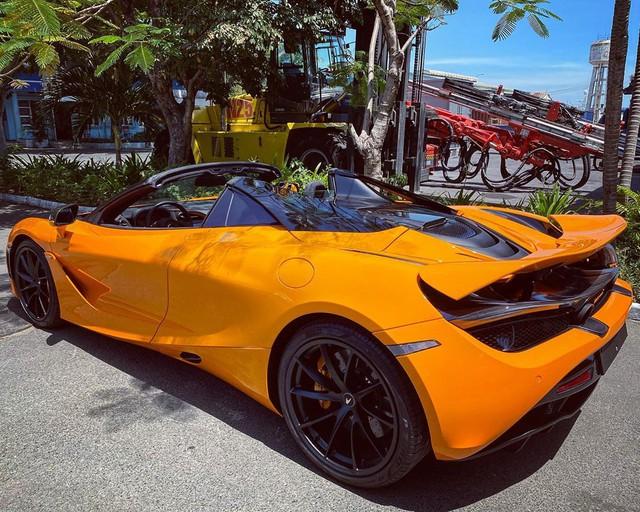 Thêm McLaren 720S Spider về Việt Nam, màu sơn dễ nhầm lẫn với chiếc của doanh nhân Nguyễn Quốc Cường - Ảnh 2.