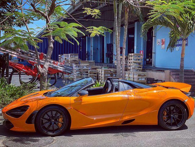 Thêm McLaren 720S Spider về Việt Nam, màu sơn dễ nhầm lẫn với chiếc của doanh nhân Nguyễn Quốc Cường - Ảnh 5.