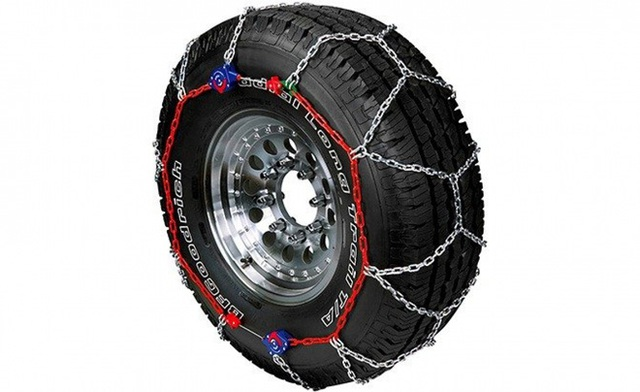 Khám phá xích bọc lốp xe chuyên biệt cho mùa đông băng giá - Ảnh 2.