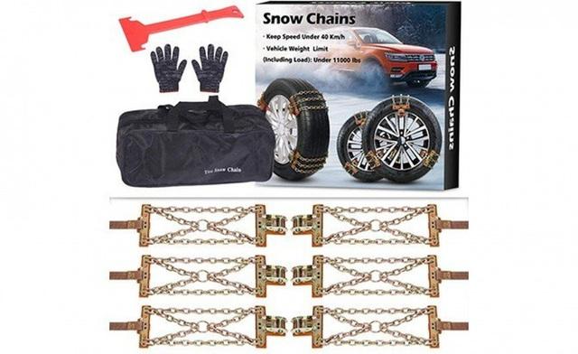Khám phá xích bọc lốp xe chuyên biệt cho mùa đông băng giá - Ảnh 6.