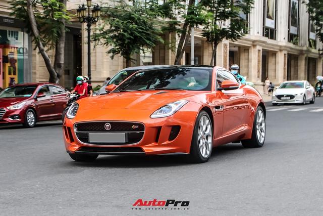 Jaguar F-Type S doc nhat Viet Nam bat ngo xuat hien tai Sai Gon sau thoi gian dai lam dau Ha Noi