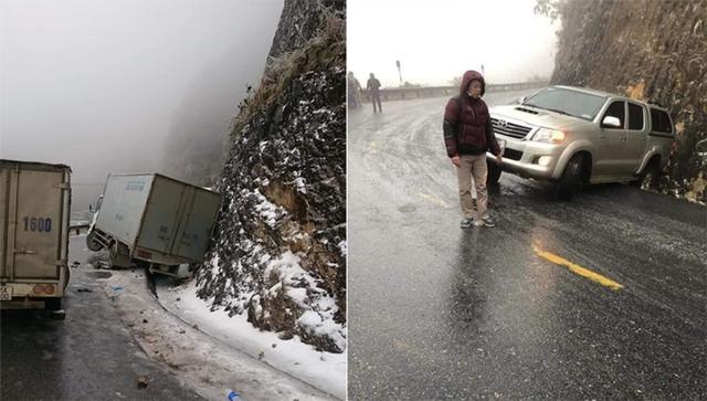 Kinh nghiệm chia sẻ dành cho lái xe đi Tây Bắc khi đường đóng băng  - Ảnh 1.