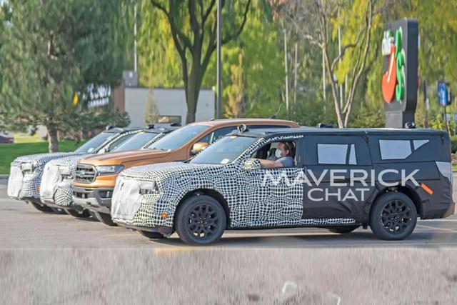Xem trước Ford Maverick - Đàn em Ranger có điểm giống Escape, ra mắt ngay năm nay - Ảnh 3.