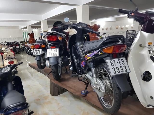 Choáng váng với kho xe máy biển đẹp 500 chiếc tại An Giang: Tổng giá trị hàng trăm tỷ đồng, đủ loại Honda Spacy, Su Xì-po, Honda Dylan - Ảnh 8.