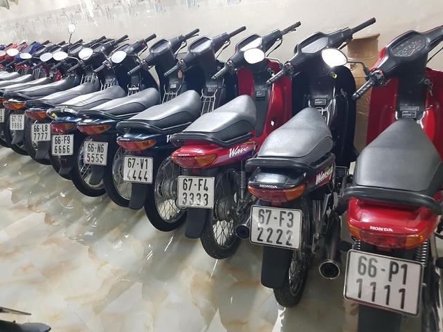 Choáng váng với kho xe máy biển đẹp 500 chiếc tại An Giang: Tổng giá trị hàng trăm tỷ đồng, đủ loại Honda Spacy, Su Xì-po, Honda Dylan - Ảnh 7.