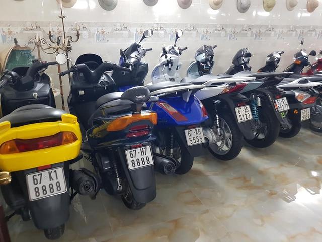 Choáng váng với kho xe máy biển đẹp 500 chiếc tại An Giang: Tổng giá trị hàng trăm tỷ đồng, đủ loại Honda Spacy, Su Xì-po, Honda Dylan - Ảnh 9.