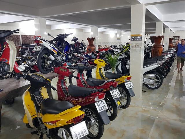 Choáng váng với kho xe máy biển đẹp 500 chiếc tại An Giang: Tổng giá trị hàng trăm tỷ đồng, đủ loại Honda Spacy, Su Xì-po, Honda Dylan - Ảnh 11.