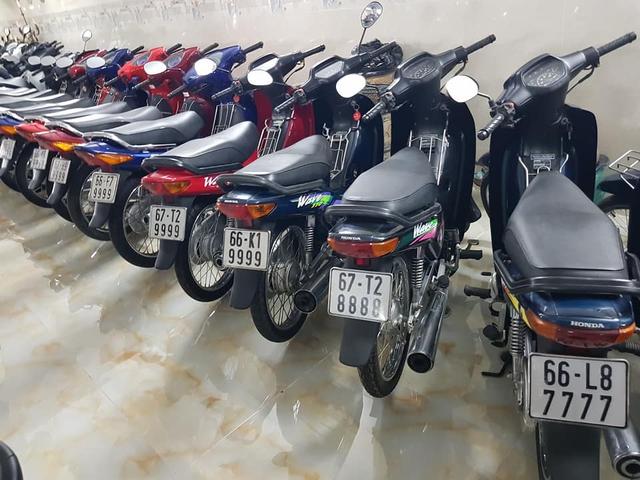 Choáng váng với kho xe máy biển đẹp 500 chiếc tại An Giang: Tổng giá trị hàng trăm tỷ đồng, đủ loại Honda Spacy, Su Xì-po, Honda Dylan - Ảnh 12.